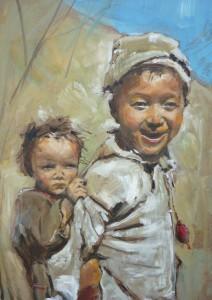 Nepáli testvérek